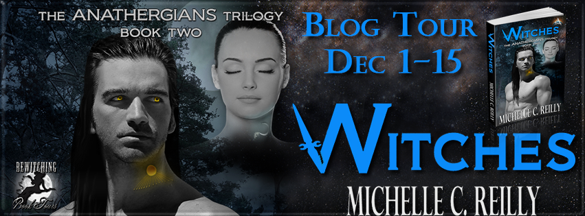 Witches, The Anathergians Trilogy, Book 2, Book Blog Tour