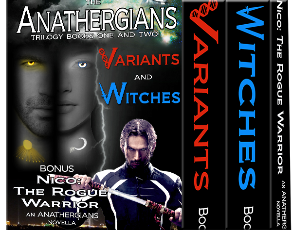 Anathergians Trilogy Books 1 and 2, Nico: The Rogue Warrior, Book Set